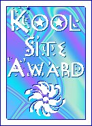 Wings' Kool Site award
