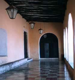 Convent of Sisal, Valladolid, Mexico