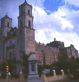 Catedral of San Gervasio, Valladolid, Mexico