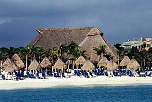 the hotels of the Mayan Riviera